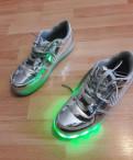 Светящиеся Кроссовки LED, обувь zen air, Санкт-Петербург