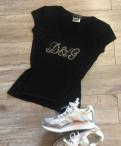 Весна лето одежда, футболка Dolce Gabbana