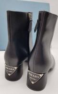 Кеды на толстой подошве с надписью, ботинки женские Prada, Сертолово