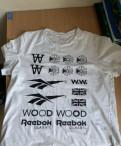 Купить мужской пуховик lawine, футболка Reebok&wood wood