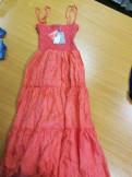Модные платья на выпускной 4 класс, продам сарафан, Советский