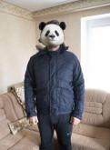 Зимняя куртка Лакост Lacoste с мехом, купить мужской пуховик с меховым капюшоном, Санкт-Петербург