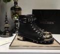Ботинки женские Alexander McQueen, купить кроссовки фила azurre
