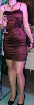 Платье коктельное, норка шуба орех 100 см распродажа, Волхов