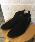 Купить мужской шарф и шапку комплект, туфли (осень/весна), Старая
