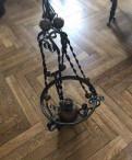Люстра старинная из керосиновой лампы 19век
