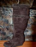 Ботинки женские демисезонные франческо донни коричневый лак, зимние сапожки, Ломоносов