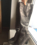 Обувь претти балерина, сапоги серые TJ Collection