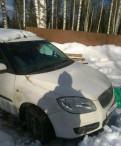 Форд фокус седан белый, skoda Roomster, 2008, Сертолово