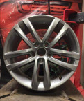 Оригинальные штампованные диски на рено дастер частные, диск r17 Volkswagen Passat 2017 1шт