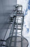 Наружная пожарная лестница П1-2 10м, Санкт-Петербург
