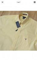 Рубашка Gant новая с коротким рукавом, купить недорого мужскую демисезонную куртку, Санкт-Петербург