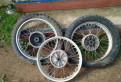 Ява 350 (634), колесные диски воссен оригинал б\/у