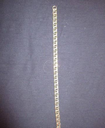 Серебряный браслет. Бисмарк. 925 пр