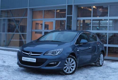 Opel Astra, 2012, автомобиль санг йонг муссо