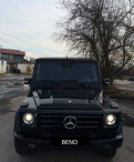 Mercedes-Benz G-класс, 2001, mercedes benz ml 63 amg цена