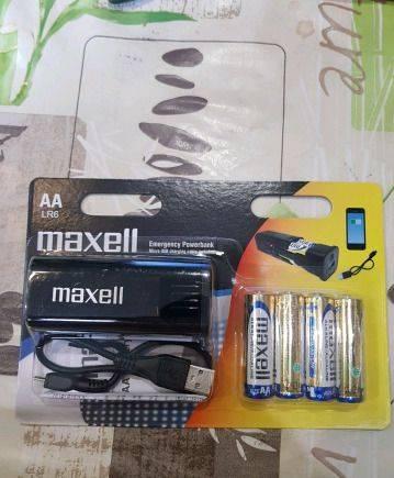 Powerbank зарядное устройство Maxell