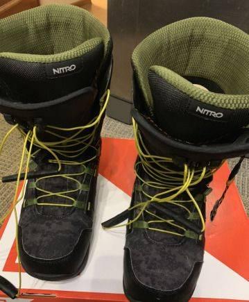 Ботинки для сноуборда nitro anthem TLS