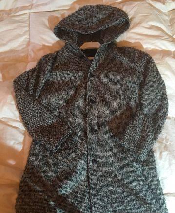 Шуба из песца ист нова, пальто Yohji Yamamoto
