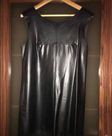 Платье эко кожа, турецкий интернет магазин мусульманской одежды