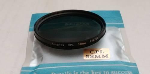 Фильтр поляризационный CPL 58mm