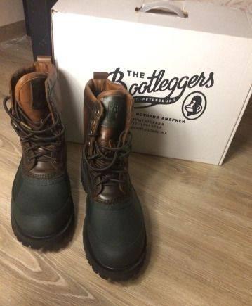 Модная мужская обувь на платформе, американские Ботинки Bootleggers. Новые. 10US