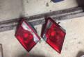 Бампер опель астра gtc 2008, шевроле Круз задние фонари внутренние (стоп фонари, Всеволожск