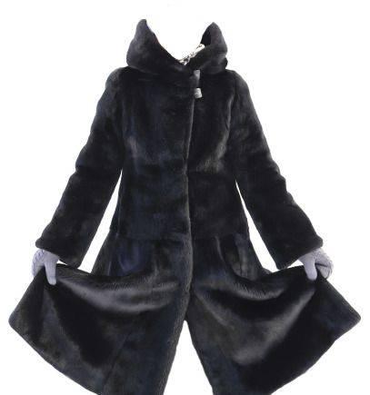 Норковая шуба black lama, фирменная горнолыжная одежда