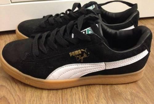 Кроссовки Puma Clyde, кроссовки женские на платформе сетка yzy f103