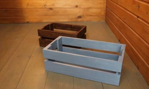 Деревянный ящик выставочный 40х20х13 см