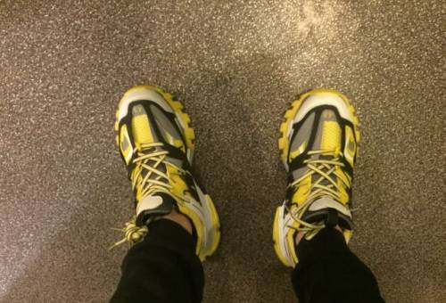 Balenciaga Track, бутсы adidas messi 10/10
