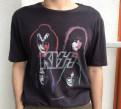 Кожаные куртки мужские купить в недорого магазины, футболка Zara kiss, Выборг