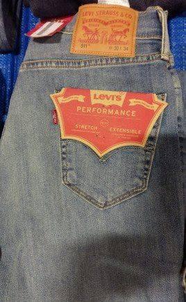 Levi's, каталог мужской зимней одежды
