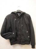 Куртка демисезонная мехх черная, второе рококо мужской костюм