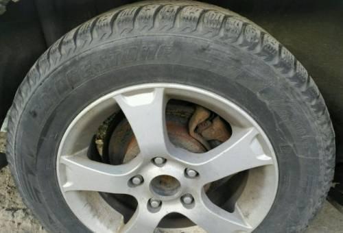 Диски R15 с резиной 195/65/15, колеса на ниссан ноут 5.5 jx 45mm купить