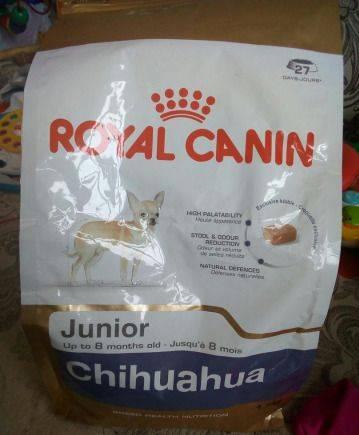 Корм Royal Canin Для щенков чихуахуа до 8 мес