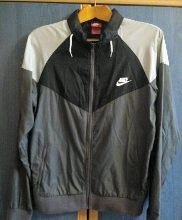 Ветровка Nike, мужской пиджак с коротким рукавом