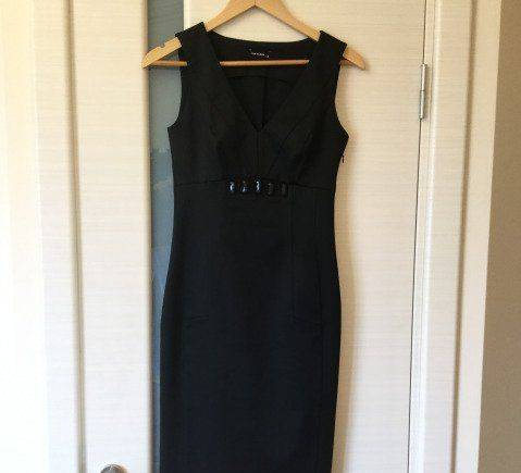 Женская одежда киви, платье деловое Tom Klaim
