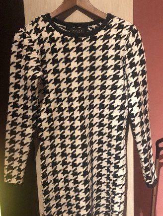 Теплое платье 44 размер, педикюрные носочки тм pinkfoot