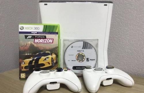 Xbox 360 slim white