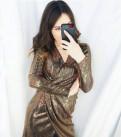 Джинсовые шорты комбинезон для девушек, золотое платье с пайетками, Стрельна