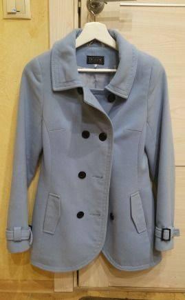 Пальто на девочку-подростка, юбка солнце в мелкую полоску