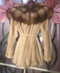 Норковая шуба с Капюшоном из Соболя Белая 44-48 Пу, купить толстовку женскую большого размера