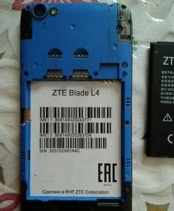ZTE Blade L4
