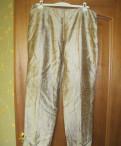 Штаны флисовые мужские адидас, новые шелковые брюки пр-во Италия, Новое Девяткино