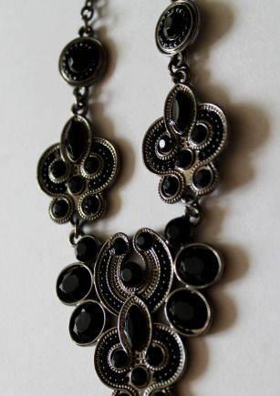 Шикарное колье ожерелье на цепочке