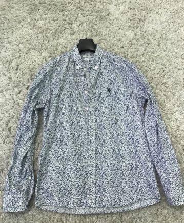 Рубашка U.S. polo assn, ltb мужские зимние куртки