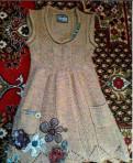 Платье Desigual размер М б/у, платье на выпускной длинное с рукавами