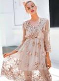 Вечернее платье, платья для полных зима 2018