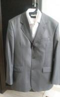Длинный мужской пиджак френч, костюм мужской